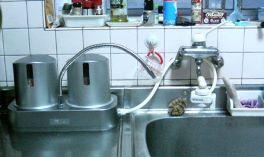 家庭用浄水器設置事例