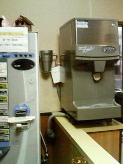 冷水器に設置した浄水器