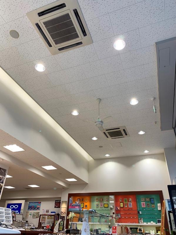 水銀灯LED化施工事例アオヤギ