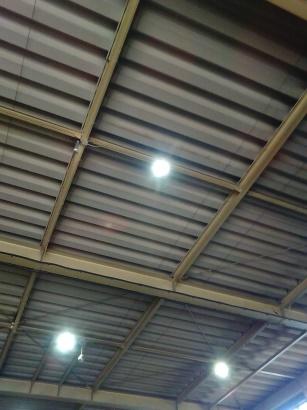 水銀灯LED化施工事例ヤザキ