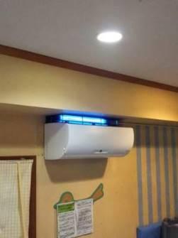 紫外線殺菌装置を医療機関に設置した事例