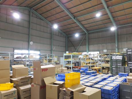 倉庫LED化