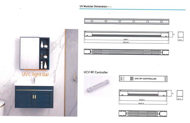 LED紫外線殺菌ランプ-バーランプ