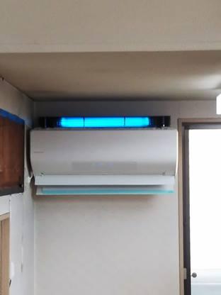 紫外線殺菌装置導入事例別所医院
