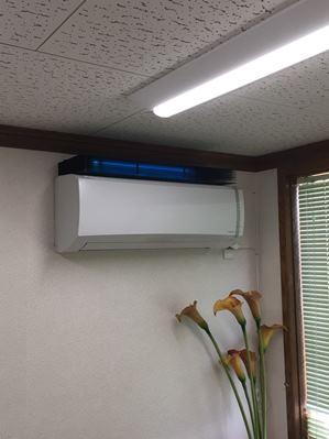 紫外線殺菌装置導入事例静岡トレーニングクリニック