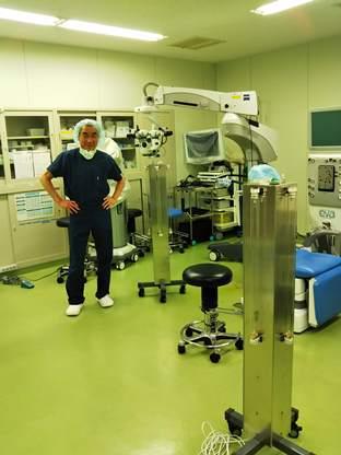 紫外線タワー型殺菌装置を竹内眼科クリニック様手術室へ導入